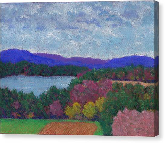 Berkshires In Late October Canvas Print