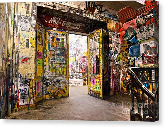 Berlin - The Kunsthaus Tacheles Canvas Print