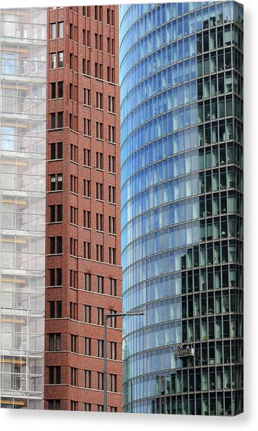 Berlin Buildings Detail Canvas Print