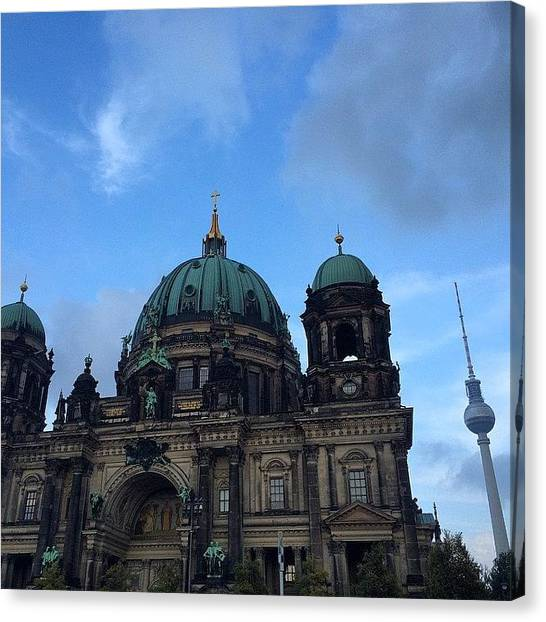 Japanese Canvas Print - #berlin #domo ( #cathedral ) And #tower by Ryoji Japan