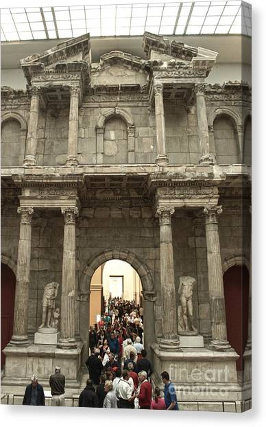 Berlin - Pergamon Museum - No.02 Canvas Print by Gregory Dyer