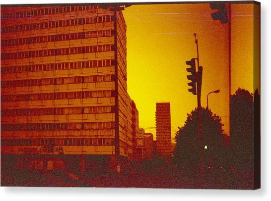 Berlin Canvas Print - Berlin Street Ddr by Juan  Bosco