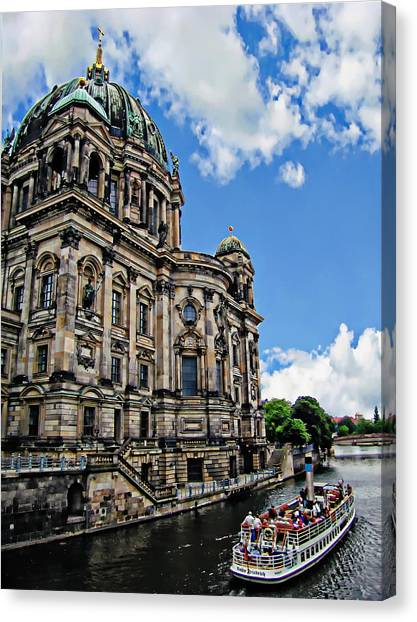 Landmark Canvas Print - Berliner Dom by Anthony Dezenzio