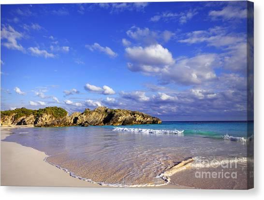 Bermuda Horseshoe Bay Canvas Print