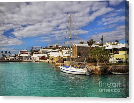 Bermuda St George Harbour Canvas Print