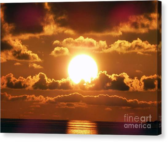 Bermuda Sunset Canvas Print