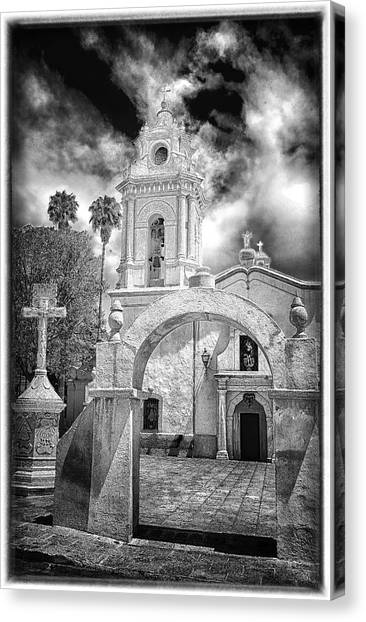Bernal Church Canvas Print