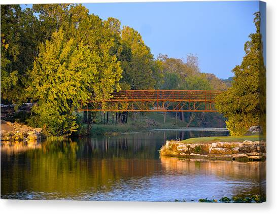 Berry Creek Bridge Canvas Print