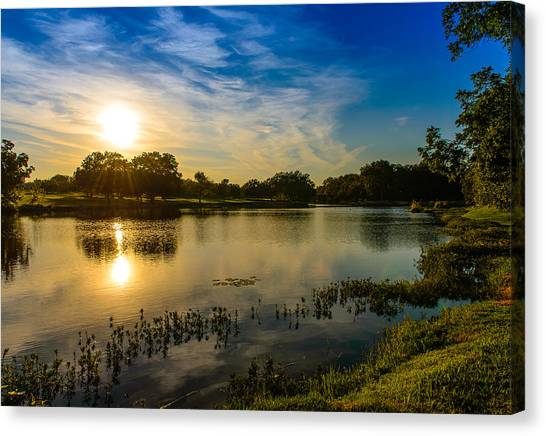 Berry Creek Pond Canvas Print