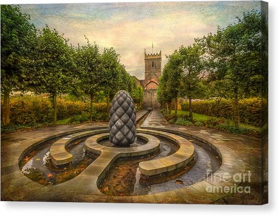 Sculptors Canvas Print - Beside Still Waters by Adrian Evans