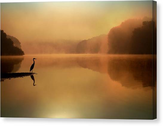 Sunrise Canvas Print - Beside Still Waters by Rob Blair