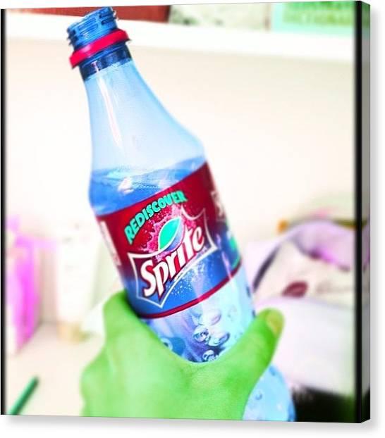 Sprite Canvas Print - Best Drink Ever, Sprite! #drink #fizzy by Courtney Whetton