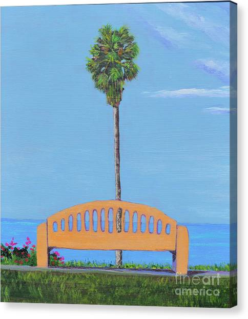 Best Seat In San Clemente Canvas Print