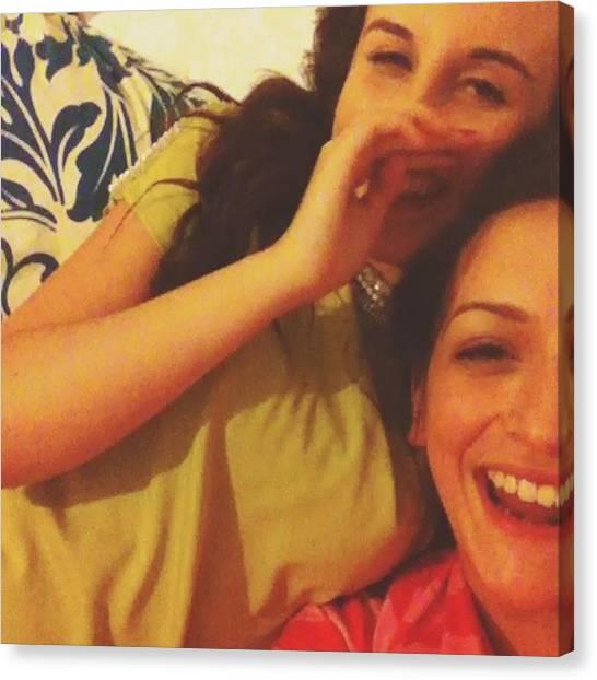Pepper Canvas Print - #bestfriends #duet #solo by Abigail Pepper