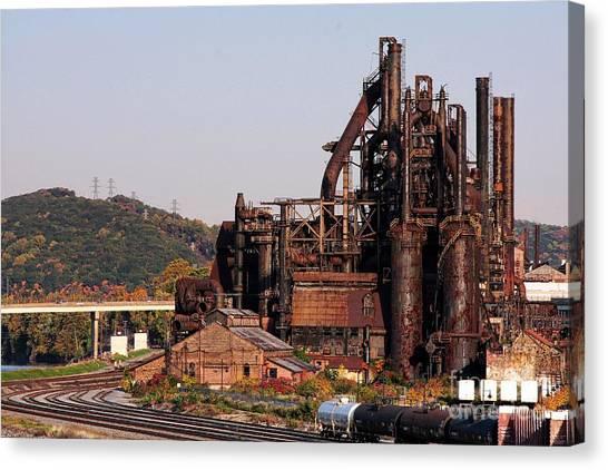 Bethlehem Steel # 8 Canvas Print