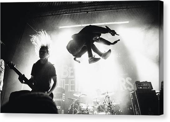 Concerts Canvas Print - Betraying The Martyrs by Jesse K?m?r?inen