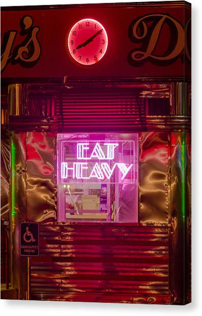 Betsy's Diner Canvas Print