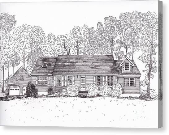 Betsy's House Canvas Print