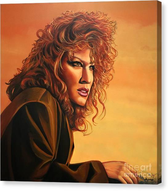 Gypsy Canvas Print - Bette Midler by Paul Meijering
