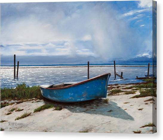 Oysters Canvas Print - Better Days by Rick McKinney