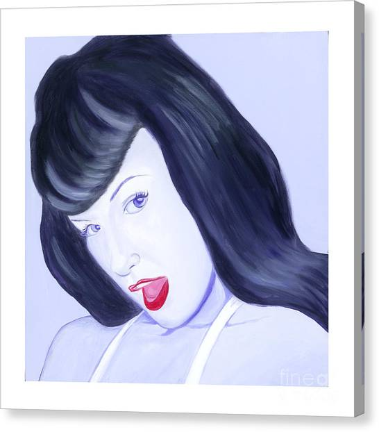 Bettie Canvas Print