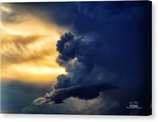 Between The Storms Canvas Print by Dan Quam