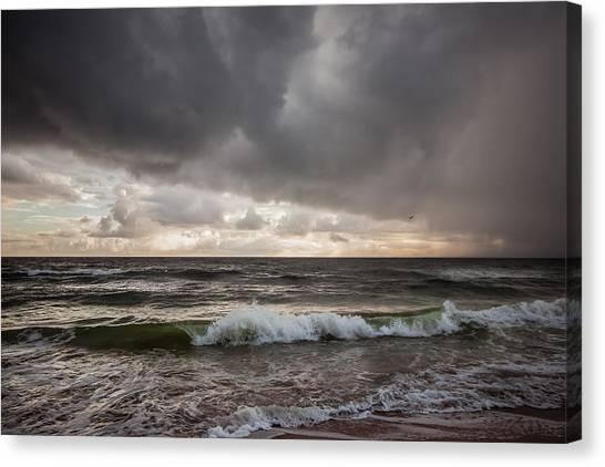 Beverly Beach Storm Canvas Print