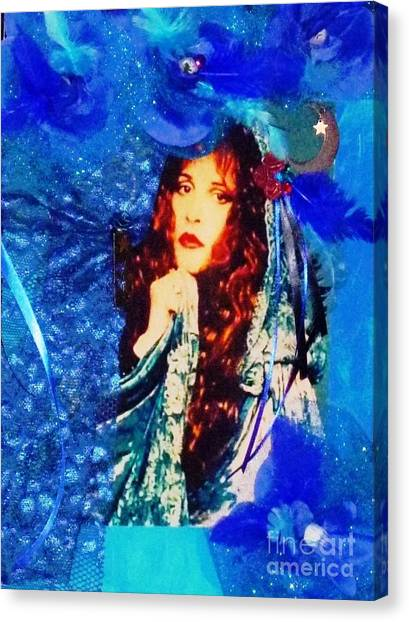 Bewitched In Blue Canvas Print