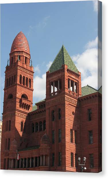 Bexar County Courthouse Canvas Print