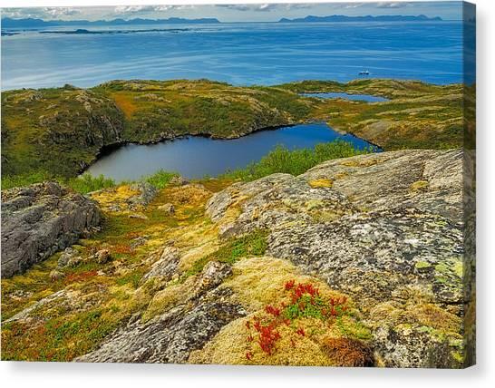Beyond The Arctic Circle Canvas Print by Maciej Markiewicz