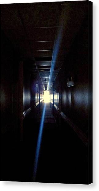 Midnite Canvas Print - Beyond The Doors Of The Dark by Mike Greco