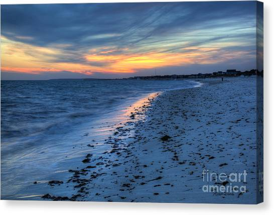 Beyond The Gilded Sunset Canvas Print