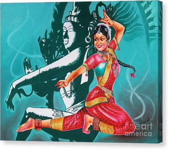 Bharatanatyam Canvas Print
