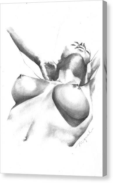 Simplistic Canvas Print - Bianca by Gabriella Miguel