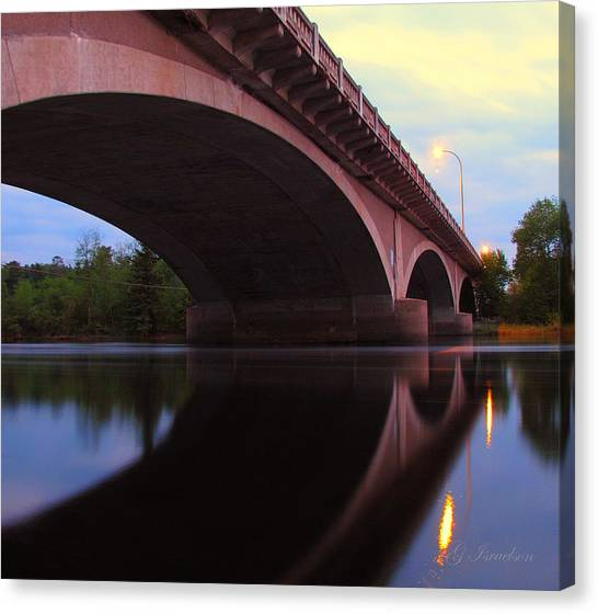 Biauswah Bridge Canvas Print