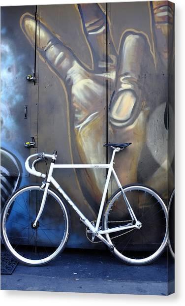 Bicycle Toronto Ontario Canvas Print
