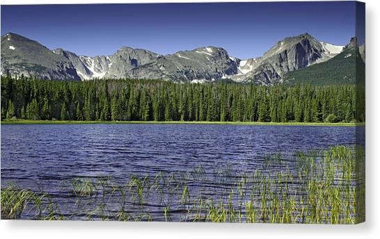 Bierstadt Lake Canvas Print by Tom Wilbert