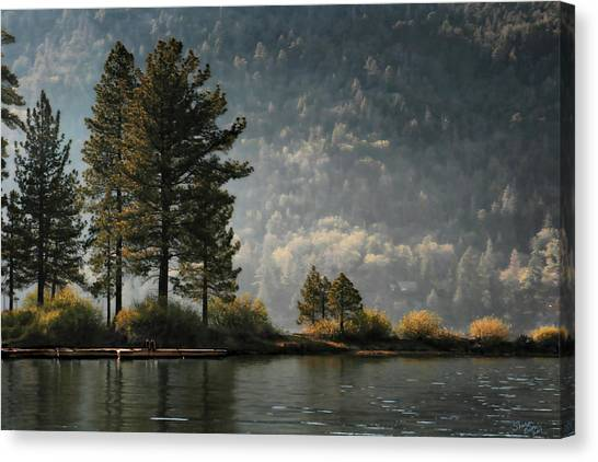 Big Bear Lake Scenic Canvas Print
