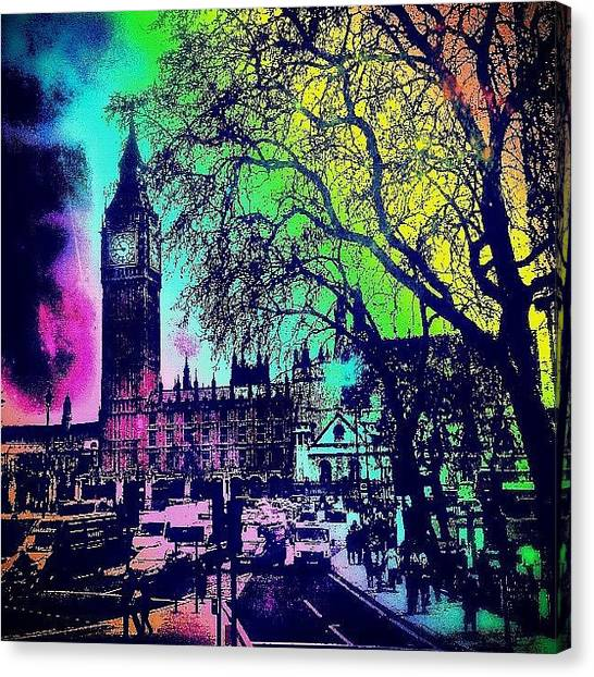 Edit Canvas Print - Big Ben Again!! by Chris Drake