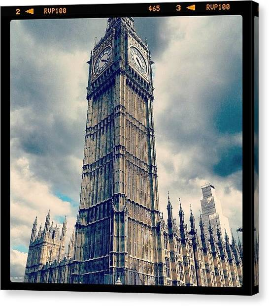 Big Ben Canvas Print - Big Ben by Anisha Tandon