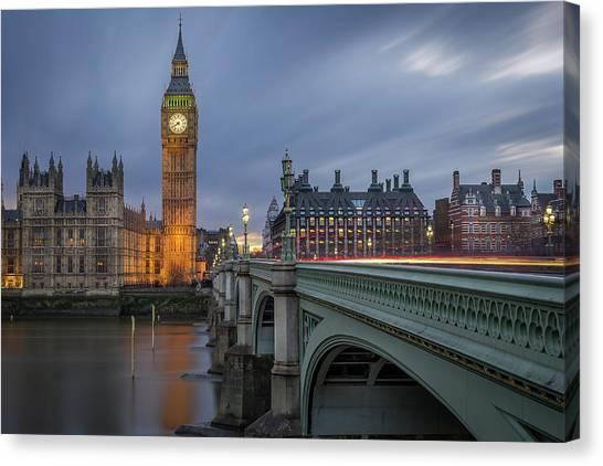 Big Ben Canvas Print - Big Ben by Costas Economou