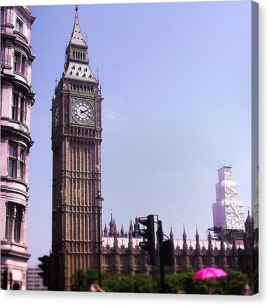 Big Ben Canvas Print - Big Ben by Sean Cahill