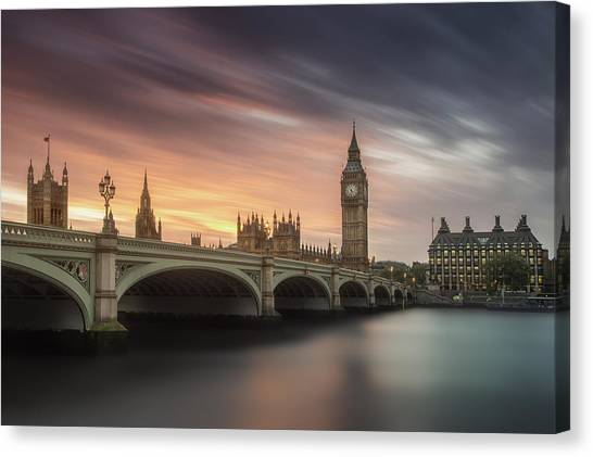 Palace Canvas Print - Big Ben, London by Artistname