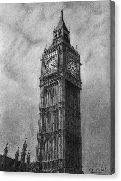 Big Ben London Canvas Print