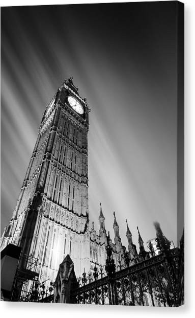 Big Ben Canvas Print - Big Ben London by Ian Hufton
