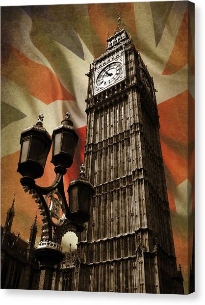 United Kingdom Canvas Print - Big Ben London by Mark Rogan
