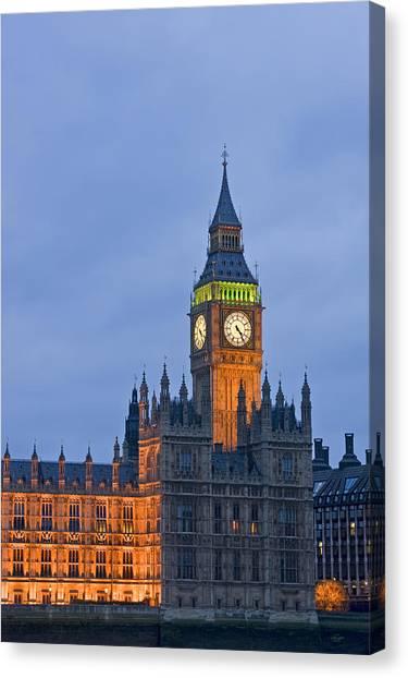 Kate Middleton Canvas Print - Big Ben London by Matthew Gibson