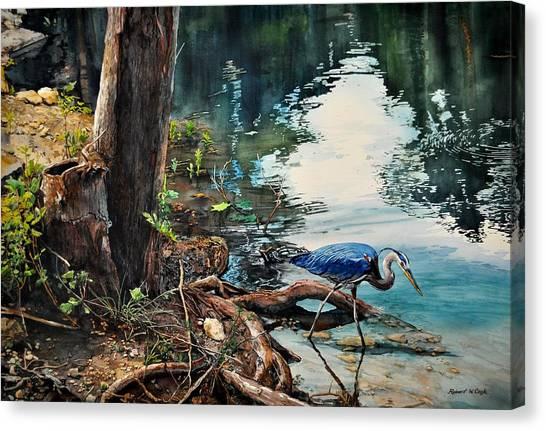 Big Blue At Carey Ranch Canvas Print