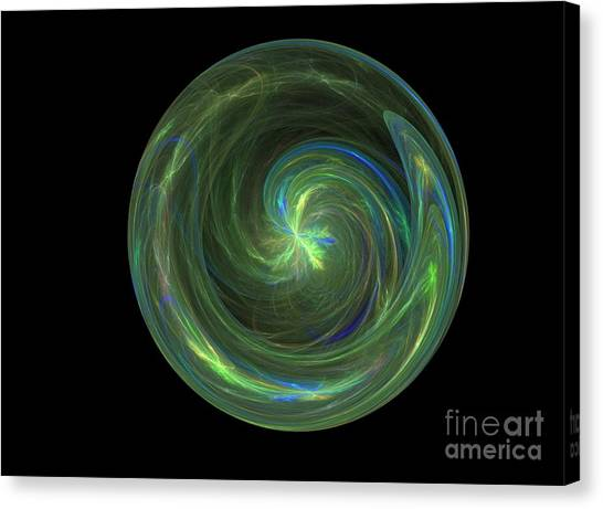 Big Blue Marble Canvas Print by Terry Weaver
