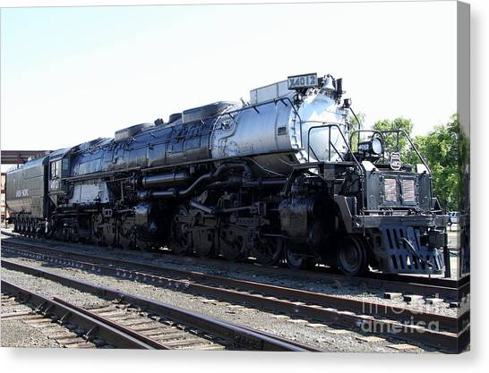 Canvas Print - Big Boy - Union Pacific Railroad by Christiane Schulze Art And Photography